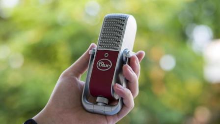 掌上录音棚 Blue Raspberry麦克风体验丨新科技出品