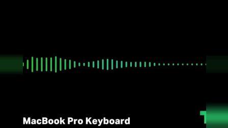全新Apple MacBook Pro 2018第三代蝴蝶键盘敲击声音
