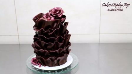 教你做神奇的魔术巧克力玫瑰蛋糕, 竟然可以这么美