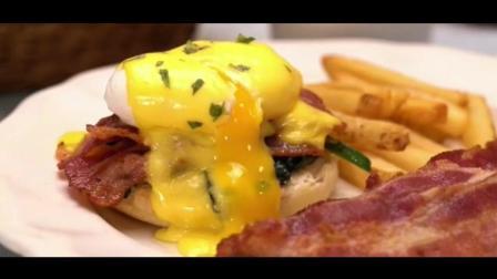 培根与鸡蛋的相遇! 融化味蕾的爆浆三明治