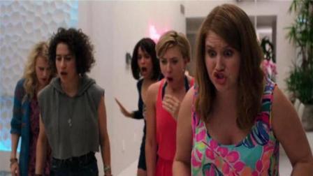 斯嘉丽缺钱花系列, 和4姐妹举办疯狂单身夜, 谁知舞男意外死亡!