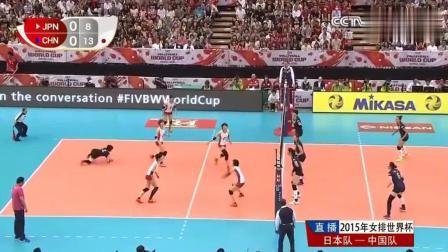 """朱婷是多么暴力, 这一球扣下后, 把日本女排第一美女""""打跪""""在地上!"""