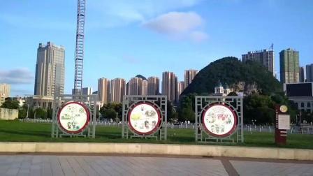 贵州六盘水地标 人民广场 带大家转转