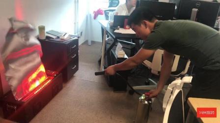 火米虚拟灭火装置演示视频