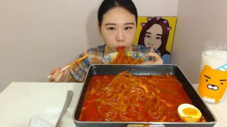 韩国吃播 大胃王弗朗西斯卡 芝士宽粉 韩国吃播 大胃王弗朗西斯卡 芝士宽粉