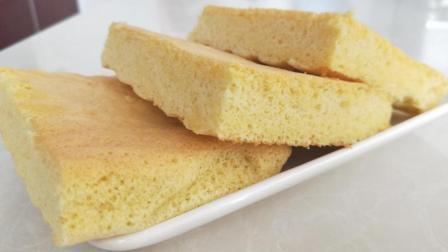爱吃蛋糕一定要收藏, 不用低筋面粉也能做, 蓬松柔软, 做法超简单