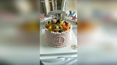 #蛋糕##美食#小猴子周岁蛋糕