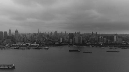 城市映像—看黑白色彩下的武汉三镇, 历史与现代的完美结合!
