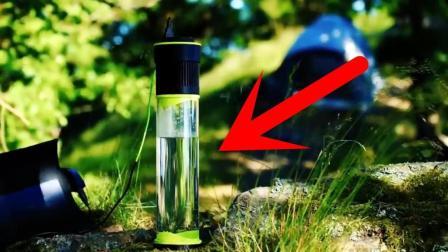 老外发明黑科技水杯, 能从空气中吸水, 还能为手机充电