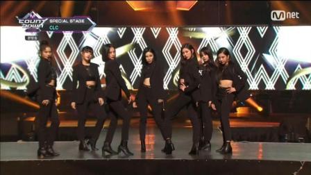 Crazy + Black Suit - CLC(180712 Mnet M! Countdown)