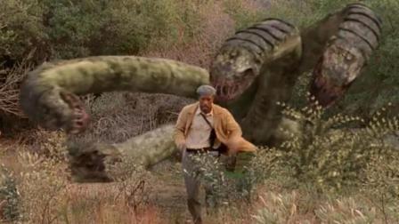 变异蟒蛇拥有9个头, 见人就咬, 一口一个, 如何对付它才是大问题!