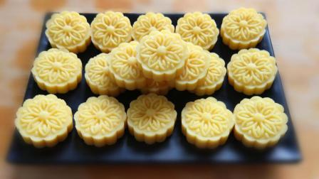 绿豆糕最家常做法, 简单好吃, 香甜细腻, 学会就不用出去排队买了
