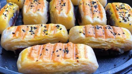 这种饼9元一斤还得排队买, 做法配方详细公开, 酥脆焦香, 真解馋