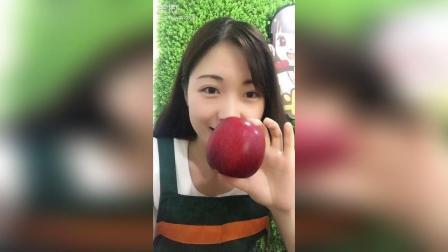 美拍视频: 新西兰的红玫瑰苹果