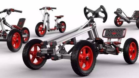 小朋友又有玩的了, 它能变成25种车型, 成就了很多达人!