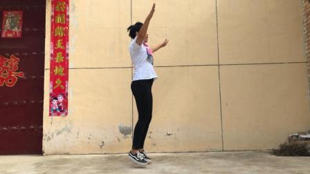 二天瘦一斤, 每天坚持原地拍手跳3分钟, 瘦全身不用去健身房