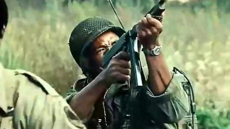 美军的黑人兵团遭德军, 请求炮火支援炮兵却炸友军