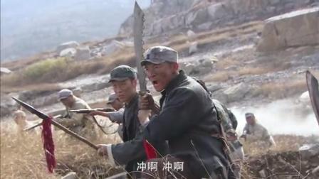 鬼子上山扫荡,刺刀敌不过红军的大,刀刀命!