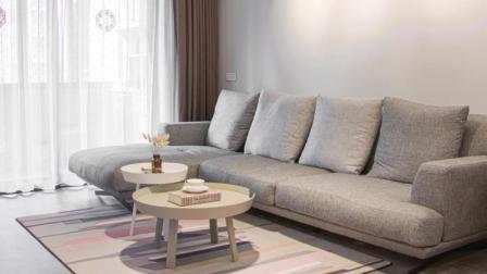 实拍新家, 小而温馨, 餐厅卡座设计节省空间, 想早点住进去