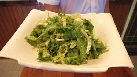 凉拌苦菊放这几种调味料最好吃, 常吃开胃清火, 值得收藏!