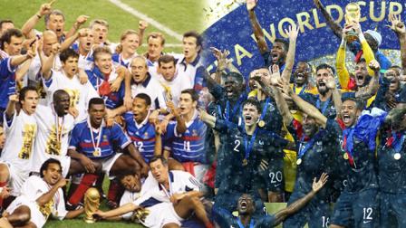 世界杯梦回98, 高卢雄鸡时隔20年再夺冠
