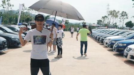 袁启聪参加大众车迷聚会, 在这里没有一部大众是一模一样的-大家车言论出品