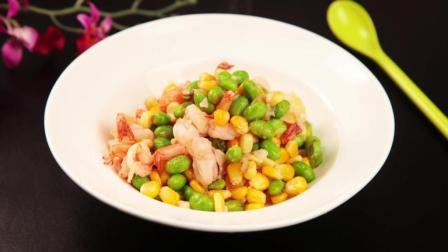 家常菜——玉米炒虾仁这么做最好吃!