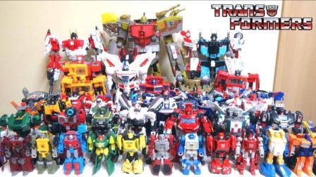 wotafa的玩具野郎日记  变形金刚1985年角色重制品  全体集合!