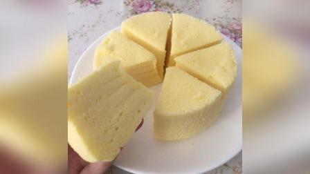 美拍视频: 酸奶蒸蛋糕#美食#