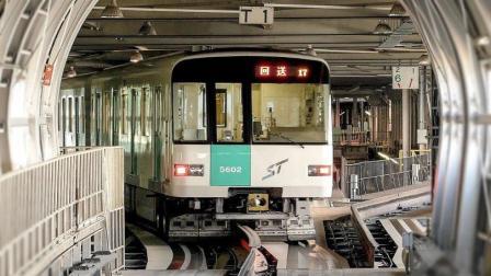 日本有轨地铁用的竟是橡胶轮胎? 这变道方式还真让人大开眼界!