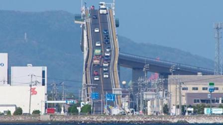 快要90度垂直的桥老司机都怕了, 练车技就来这, 你猜在哪里?