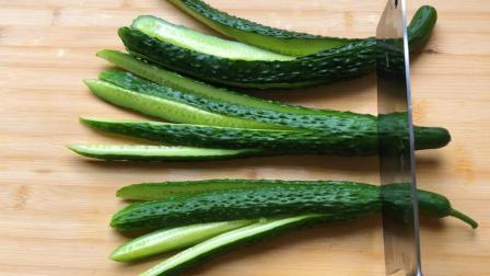 酱黄瓜这样做, 简单又好吃, 配方酱料家家都有, 特别开胃下饭