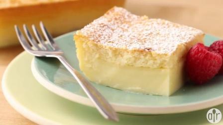 教你如何制作一个简单的布丁蛋糕!