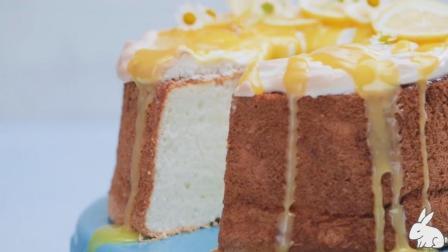 甜品烘焙: 柠檬果酱戚风蛋糕