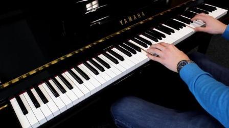 钢琴弹奏经典钢琴曲《水边的阿狄丽娜》