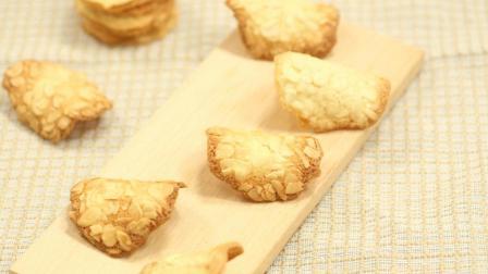 美味杏仁, 制出清香薄脆饼干, 颗粒感十足!