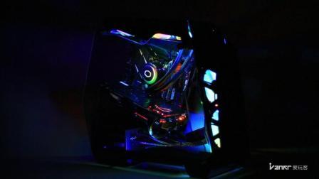 「玩客DIY」小型光污染游戏主机: 一体式水冷散热/兼顾美观和性能