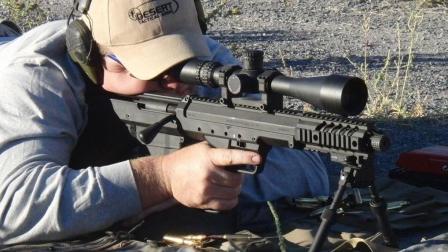 狙击步枪也可以短小精悍, 一反常态的美国SRS狙击步枪