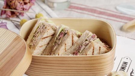 不想点外卖, 带个三明治上班, 营养健康清爽美味