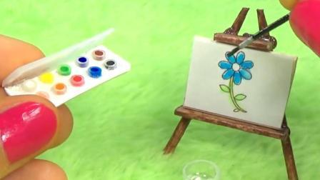 女朋友会画画? 那就DIY 一个mini水彩盒吧!