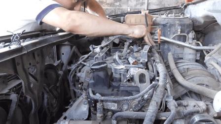 汽修厂发动机大修全程被拍摄, 平时开车很少见