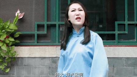 美女偶遇奇葩师太, 本想占点便宜, 师太说出3句话, 把她尴尬坏了
