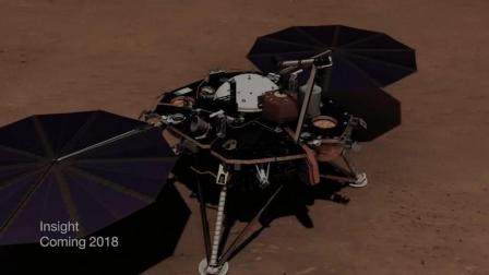 火星探测器降落视频
