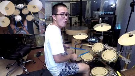 凯文先生《新长征路上的摇滚》爵士鼓演奏架子鼓演奏花式架子鼓