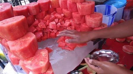 印度人如何吃西瓜? 让韩国人直呼奢侈!