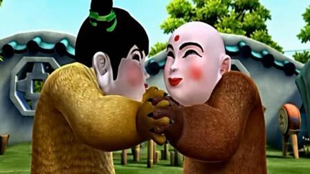 熊出没: 两熊戴上面具跳街舞, 只为取悦翠花, 肠子都笑青了