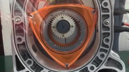 转子发动机为什么败给了活塞发动机? 看完原理动画才懂!