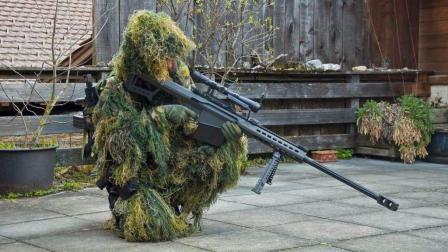 能在千米外取敌首级, 你一定见过的巴雷特M107反器材狙击步枪
