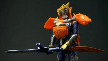 儿童食玩 假面骑士铠武亚姆AC01假面骑士铠武橙色手臂