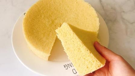 蛋糕最有营养的做法, 5个鸡蛋+少量小米, 几分钟做好的小米蒸蛋糕